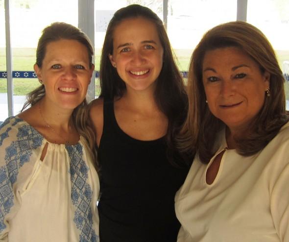 Deborah Vaidergorn, Juliana Tanenbaum e Tatiana Hara são as organizadoras da primeira feira de negócios voltada às festas da comunidade judaica que será realizada no mês de maio, em São Paulo.