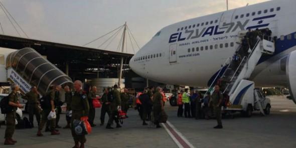 Equipes de resgate israelenses são enviadas para o Nepal. Foto: IDF